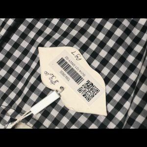 Kling Dresses - Gingham pattern cutout dress